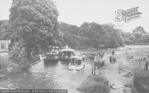 Photo of Abingdon, View From The Bridge c.1950