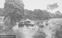 Abingdon, View From The Bridge c.1950