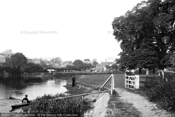 Photo of Abingdon, View From The Elms 1890