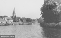 Abingdon, View From The River c.1950