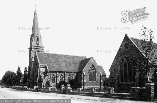 Photo of Abingdon, Wesleyan Church And Schools 1893