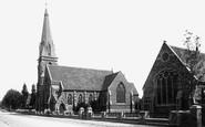 Abingdon, Wesleyan Church And Schools 1893