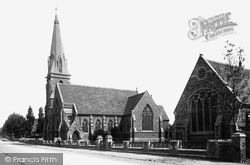 Abingdon, Wesleyan Church And Schools 1893