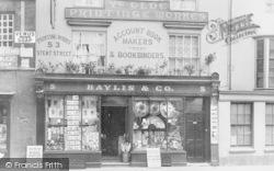 Abingdon, Ye Olde Printinge Workes, Market Place c.1900