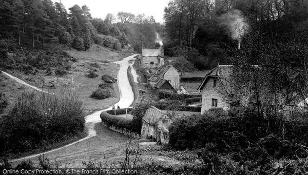 Photo of Abinger Bottom, 1924