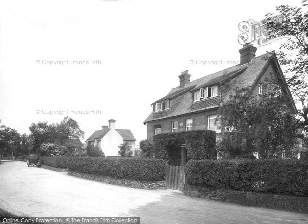 Photo of Abinger Common, 1924