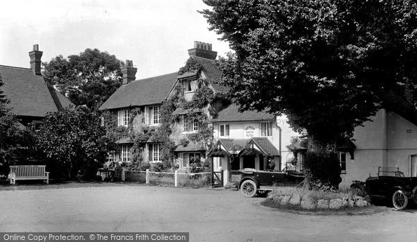 Photo of Abinger Common, Abinger Hatch Hotel 1925