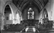 Abinger Common, Church Interior 1902