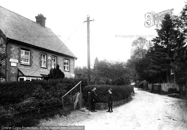 Photo of Abinger Common, Post Office 1907