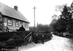 Abinger Common, Post Office 1907