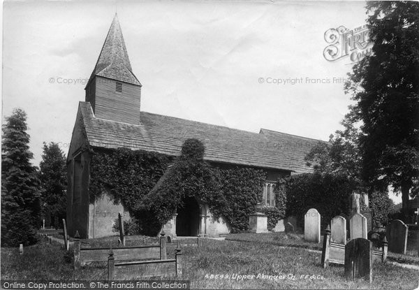 Photo of Abinger Common, St James Church 1902