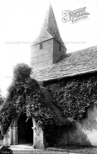 Photo of Abinger Common, St James' Church 1902
