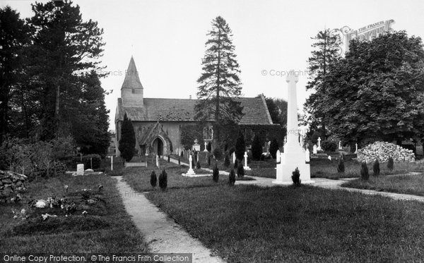 Photo of Abinger Common, St James Church 1921