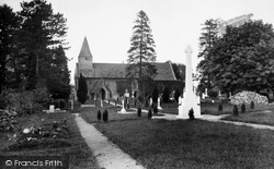Abinger Common, St James Church 1921