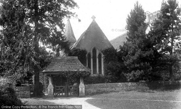 Photo of Abinger Common, St James Church And Lychgate 1902