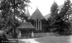 Abinger Common, St James Church And Lychgate 1902