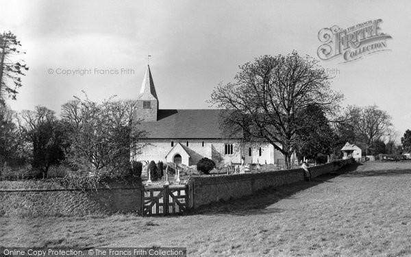 Photo of Abinger Common, St James Church c.1955