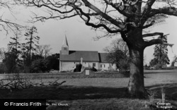 Abinger Common, St James' Church c.1955