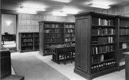 Abinger Common, The Library, Wotton House c.1960