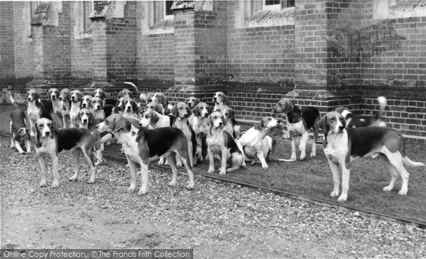 Photo of Abinger Common, Wotton House, The Hounds c.1965