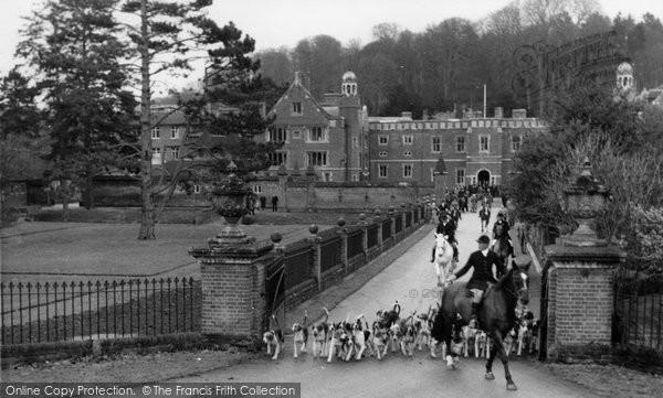Photo of Abinger Common, Wotton House, The Hunt c.1965
