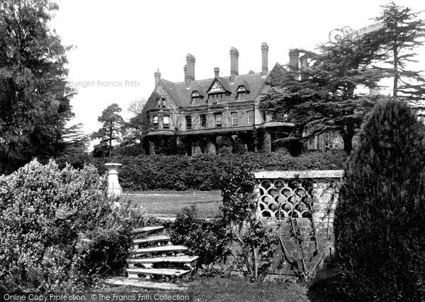Photo of Abinger Hammer, Abinger Hall 1906