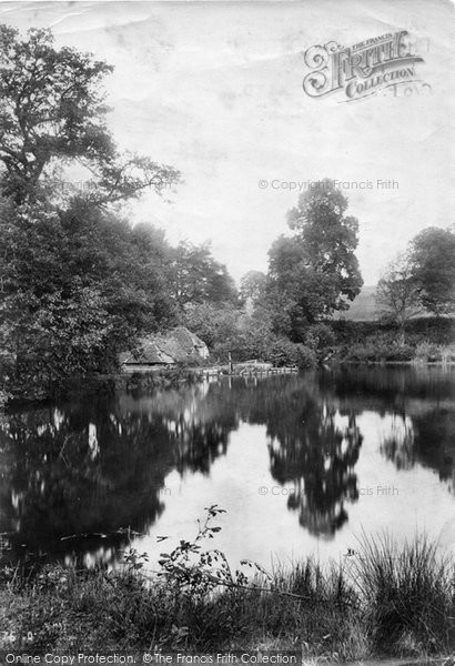 Photo of Abinger Hammer, Mill 1907