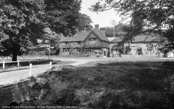Photo of Abinger Hammer, Post Office 1936