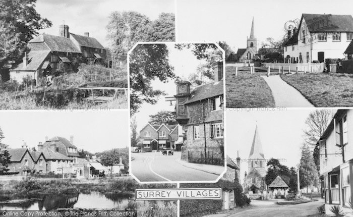 Photo of Abinger Hammer, Surrey Villages c.1955