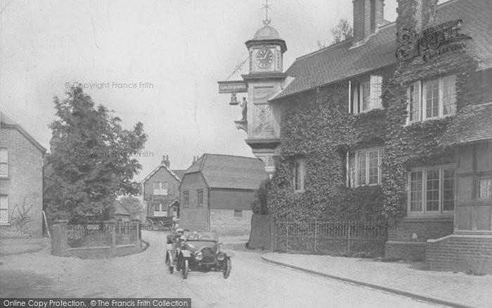 Photo of Abinger Hammer, The Clock 1909