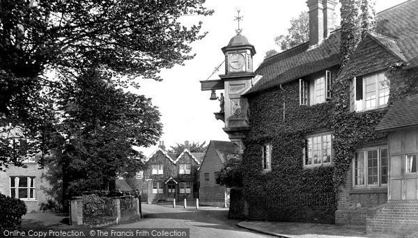 Photo of Abinger Hammer, The Clock 1921