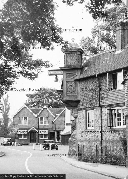 Photo of Abinger Hammer, The Clock c.1955