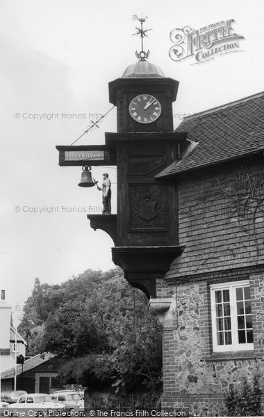 Photo of Abinger Hammer, The Clock c.1960