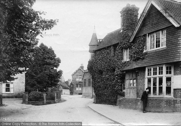 Photo of Abinger Hammer, The First Clock 1907