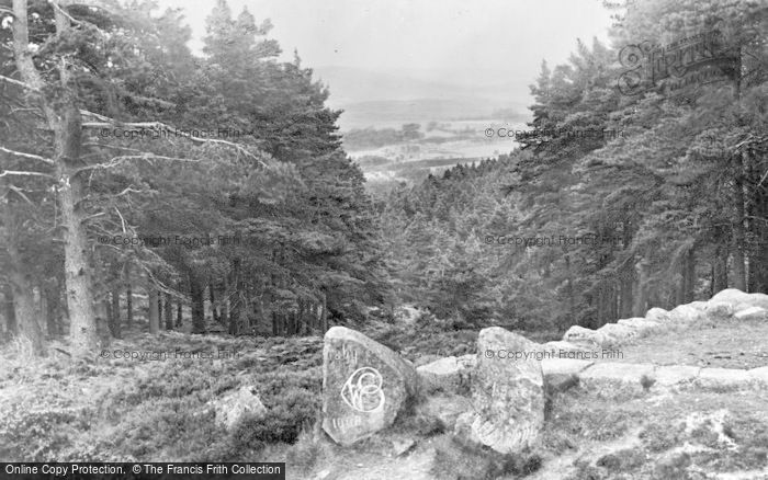 Photo of Aboyne, Rest And Be Thankful c.1930