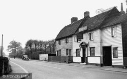 Main Road And The Maltsters' Arms c.1955, Abridge
