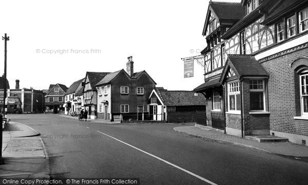 Photo of Abridge, Market Place c.1960