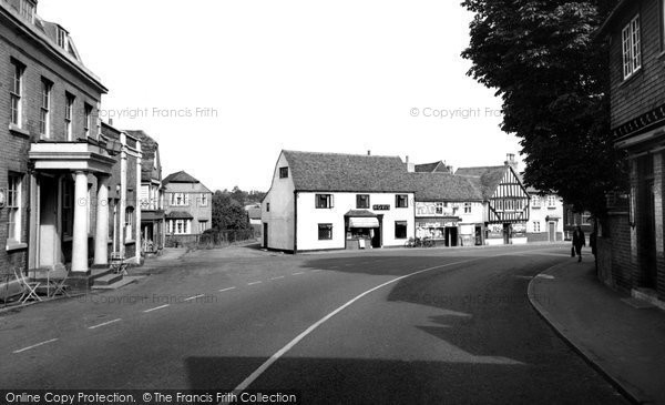Abridge, Market Place c.1960
