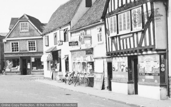 Photo of Abridge, Market Place Shops c.1960
