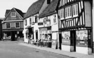 Abridge, Market Place Shops c.1960