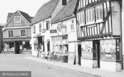 Market Place Shops c.1960, Abridge