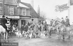 Post Office And The Essex Hounds c.1915, Abridge