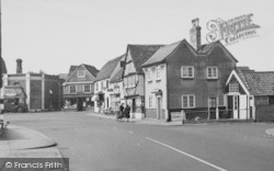 Shops By The Market Place c.1960, Abridge