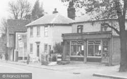 Shops c.1955, Abridge