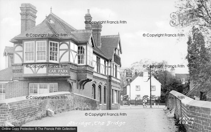 Photo of Abridge, The Bridge c.1955