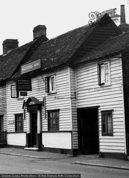 Photo of Abridge, The Maltsters' Arms c.1955