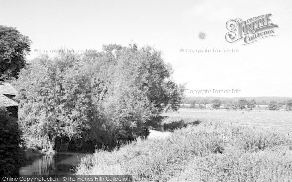 Photo of Abridge, The River c.1955