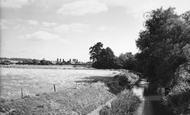 Abridge, The River c.1960