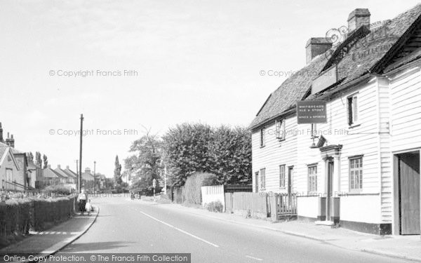 Photo of Abridge, The Village c.1960