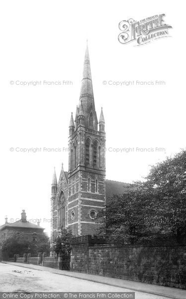 Photo of Accrington, Baptist Chapel 1897